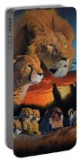 African Cats Portable Battery Charger