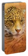 African Leopard Portable Battery Charger