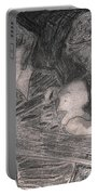 After Billy Childish Pencil Drawing 33 Portable Battery Charger