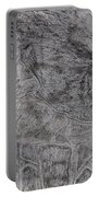 After Billy Childish Pencil Drawing 5 Portable Battery Charger