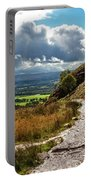 After The Rain On The Trail Portable Battery Charger