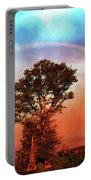 After The Storm, California Foothills                        Portable Battery Charger