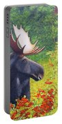 Afternoon Munch Portable Battery Charger by Tracey Goodwin