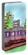 Agawam Diner Portable Battery Charger