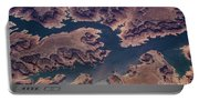 Air View Of Lake Powell Portable Battery Charger