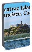 Alcatraz Island, San Francisco, California Portable Battery Charger