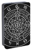 Alchemical Sigil Portable Battery Charger