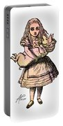 Alice And The Pig Portable Battery Charger