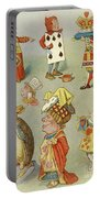 Alice In Wonderland Characters Portable Battery Charger