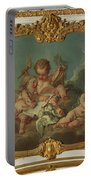Allegory Of Lyric Poetry  Portable Battery Charger