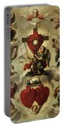 Allegory Of The Holy Eucharist Portable Battery Charger