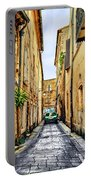 Alley In Avignon Portable Battery Charger