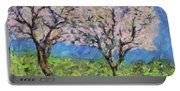 Almonds In Full Bloom Portable Battery Charger