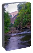 Along The Wissahickon At The Henry Avenue Bridge Portable Battery Charger
