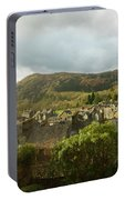 Ambleside Rooftops In The Lake District National Park Portable Battery Charger