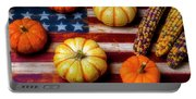 American Autumn Harvest Portable Battery Charger