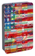 American Flags Of The World Portable Battery Charger