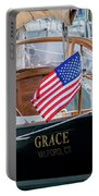American Pride At The Marina Portable Battery Charger