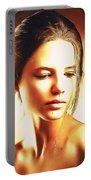 Anastasia Portrait Portable Battery Charger