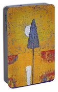 Another Day At The Office Original Painting Portable Battery Charger