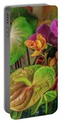 Anthurium Riot Portable Battery Charger