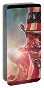 Apollo Creed  Portable Battery Charger by Joel Tesch