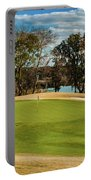 Approaching The 18th Green Portable Battery Charger
