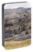 April Badlands Near Amidon Portable Battery Charger