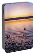 April Dawn On The Hudson River II Portable Battery Charger