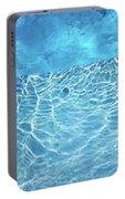 Aqua Agua Abstract Five Portable Battery Charger