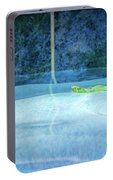 Aqua Agua And Leaf Portable Battery Charger