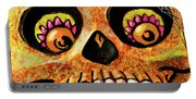 Aranas Sugarskull Of Spiders Portable Battery Charger