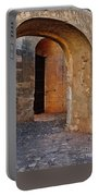 Arches Of A Medieval Castle Entrance In Algarve Portable Battery Charger