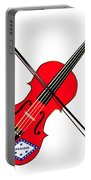 Arkansas State Fiddle Portable Battery Charger
