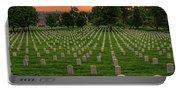 Arlington National Cemetery Sunrise Portable Battery Charger