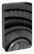 Arlington Stairs Layers Grayscale Portable Battery Charger