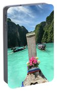 Arriving In Phi Phi Island, Thailand Portable Battery Charger