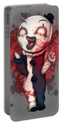 Art Plushie Portable Battery Charger
