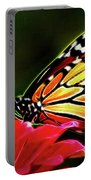 Artistic Monarch Portable Battery Charger