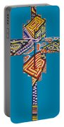 The Abstract Cross Portable Battery Charger