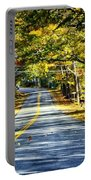 Autumn Paved Portable Battery Charger