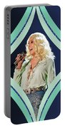Cher - Teal Diamond Portable Battery Charger
