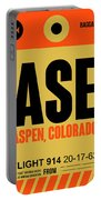 Ase Aspen Luggage Tag I Portable Battery Charger