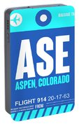 Ase Aspen Luggage Tag II Portable Battery Charger