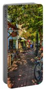 College Town Athens Georgia Downtown Uga Athens Georgia Art Portable Battery Charger