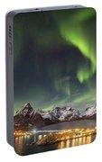 Aurora In Lofoten Portable Battery Charger