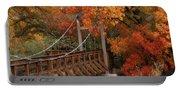 Autumn Across The Bridge  Portable Battery Charger