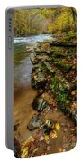 Autumn At Cherry Falls Elk River Portable Battery Charger