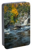 Autumn At Linville Falls - Linville Gorge Blue Ridge Parkway Portable Battery Charger