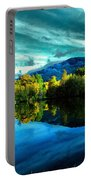 Autumn Beauty Lakeside Portable Battery Charger